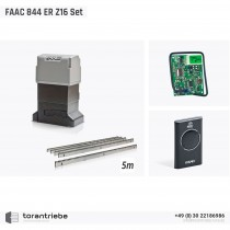 Set Schiebetorantrieb FAAC 844 ER Z16
